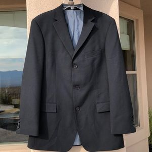 Hugo Boss Black Wool Dress Jacket Size 38R